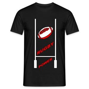 t-shirt sport rugby design - T-shirt Homme