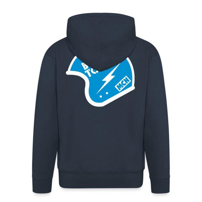 Front zipper hoodie