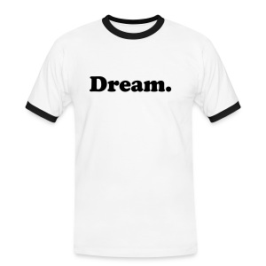 Dream Believe Achieve - T-shirt contrasté Homme
