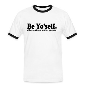 Be yourself - T-shirt contrasté Homme