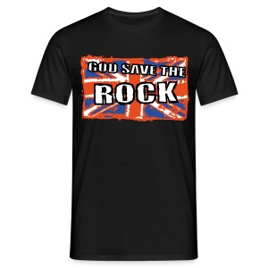 God Save The Rock - T-shirt Homme