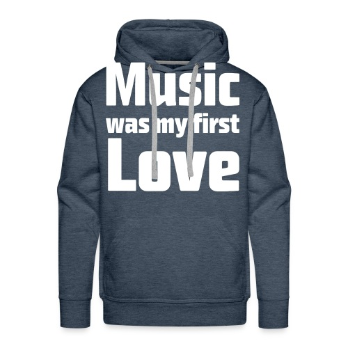 My First Love - Men's Premium Hoodie