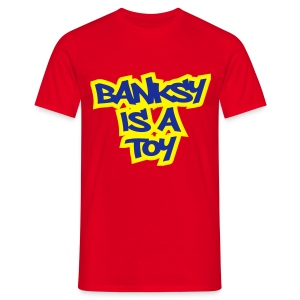 Toy Banksy - Men's T-Shirt