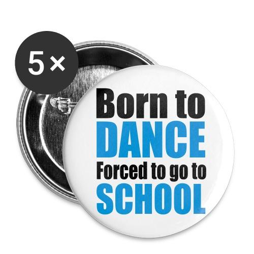 Dance/school Button - Buttons groot 56 mm (5-pack)