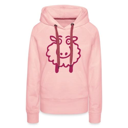 Pinkie Scheep - Frauen Premium Hoodie