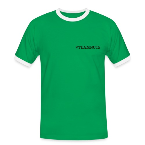 Mens #Teamnuts shirt  - Men's Ringer Shirt