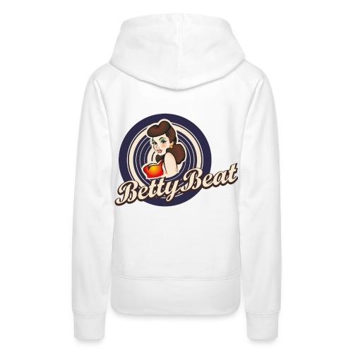 Betty Beat Girlie Hoodie Jersey - Frauen Premium Hoodie
