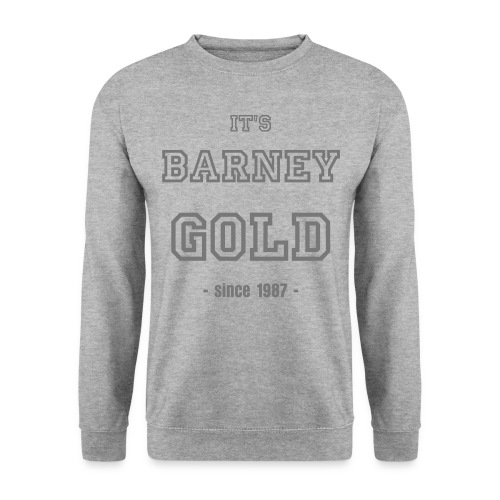 Barney College Sweat Vintage - Sweat-shirt Homme