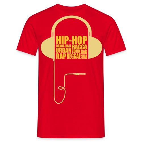 t-shirt casque de hip hop - T-shirt Homme