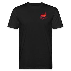 Fischkutter mit Schriftzug »Zingst« - Männer Bio-T-Shirt