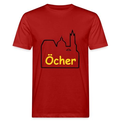 Aachener Dom Shirt - Männer Bio-T-Shirt