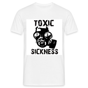 Mens Toxic Sickness t-shirt - Men's T-Shirt