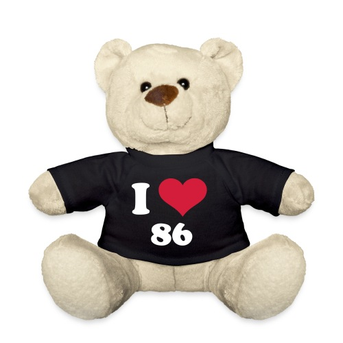 Der I Love 86-Bär - Teddy
