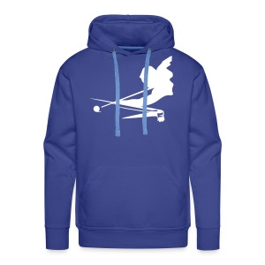 aiming player - Men's Premium Hoodie