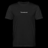 T-Shirts ~ Männer Bio-T-Shirt ~ Snowbored