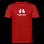 T-Shirts ~ Männer Bio-T-Shirt ~ Lungenflügel