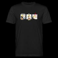 T-Shirts ~ Männer Bio-T-Shirt ~ Aufs Maul