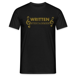 SWEET-WEAR  Mens written entertainment T-Shirt - Men's T-Shirt