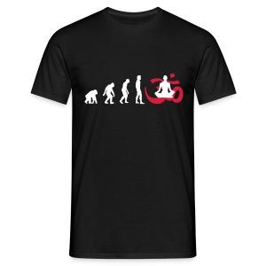 Evolution Yoga Buddhalainen meditaatio T-paidat - Männer T-Shirt