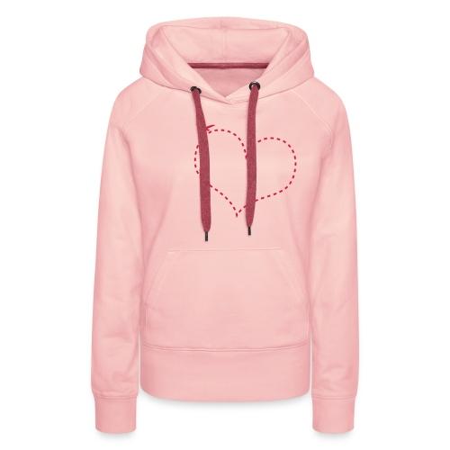 Steal my heart away - Vrouwen Premium hoodie