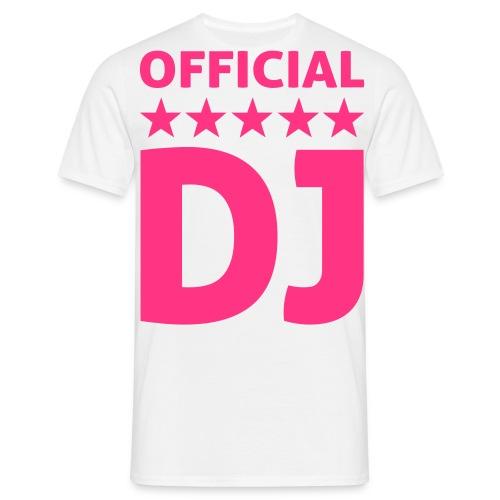 t-shirt official DJ - T-shirt Homme