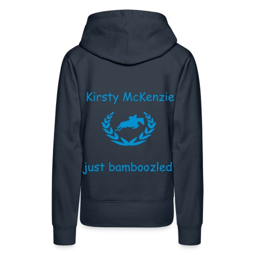 kirsty and bambam (personilized jumper) - Women's Premium Hoodie