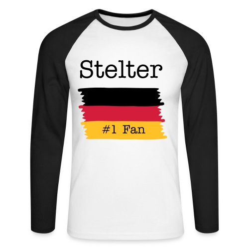 The Stelter Long Sleeve - Men's Long Sleeve Baseball T-Shirt