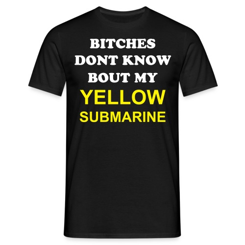 Yellow Submarine Mens Tee - Men's T-Shirt