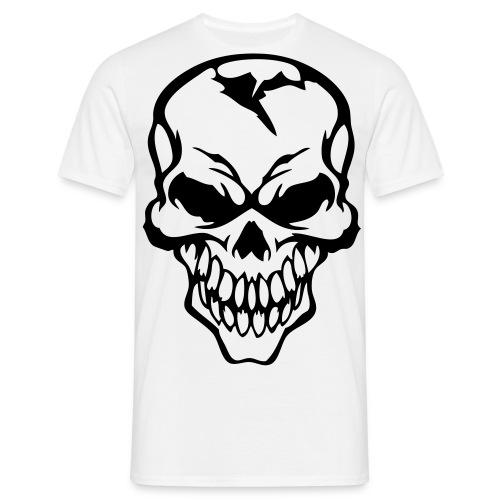 t-shirt avec tete de mort - T-shirt Homme