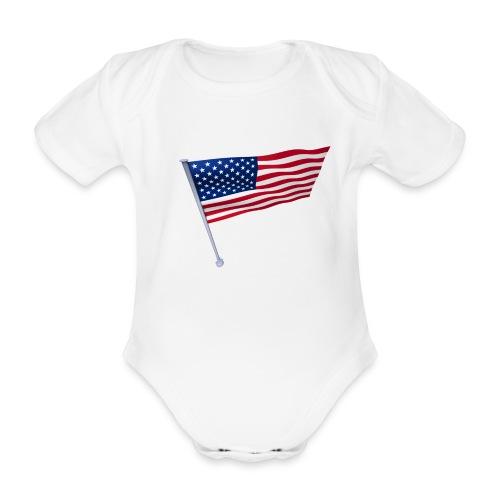 USA Shirt - Body Bébé bio manches courtes