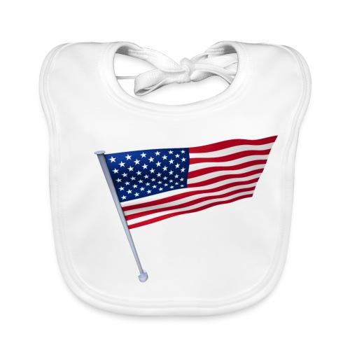 USA Shirt - Bavoir bio Bébé