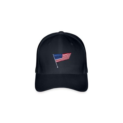 USA Shirt - Casquette Flexfit
