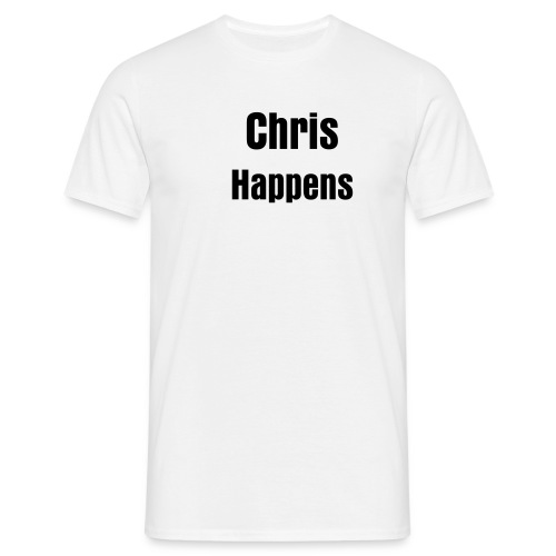 chris happens - Men's T-Shirt