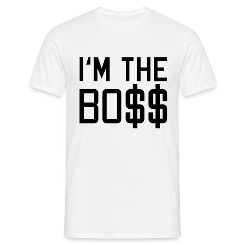 Herren T-Shirt I`m the BOSS - Männer T-Shirt