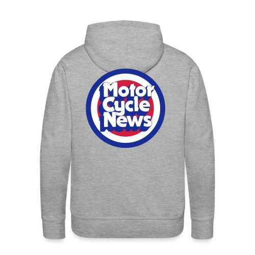 Back design - Men's Premium Hoodie