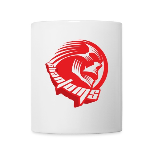 Mug - White mug with Phantoms roundel.