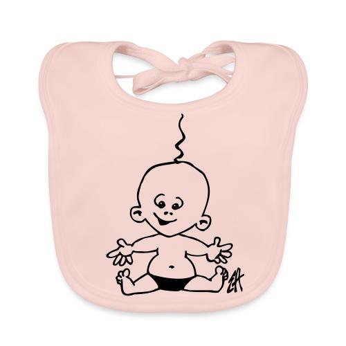 Meisjes slabber - Bio-slabbetje voor baby's