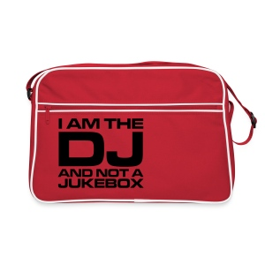 I AM THE DJ AND NOT A JUKEBOX - Retro Tasche