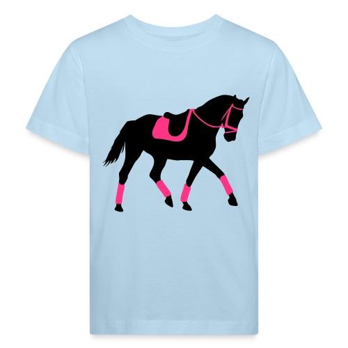 Mädchen T-shirt zum reiten oder für die Freizeit - Kinder Bio-T-Shirt