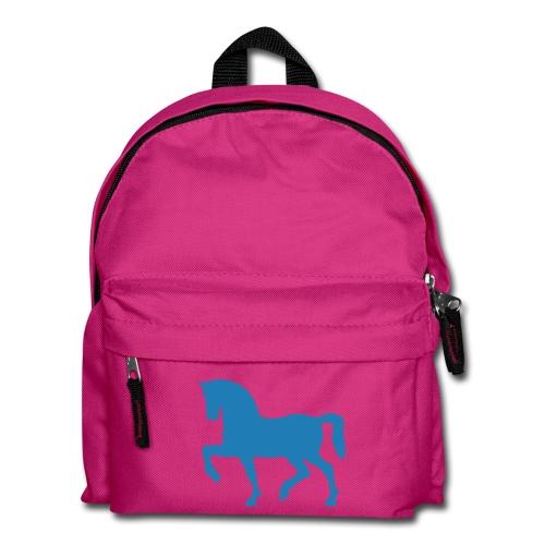 Rucksack mit glitzer pferd - Kinder Rucksack