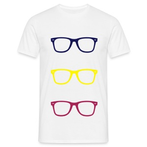 Glasses - T-shirt Homme