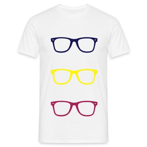 Glasses - T-shirt Homme