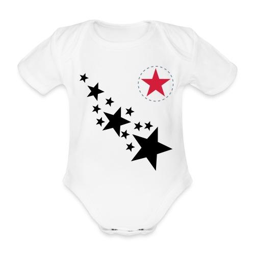 ROCK STAR - Baby Bio-Kurzarm-Body