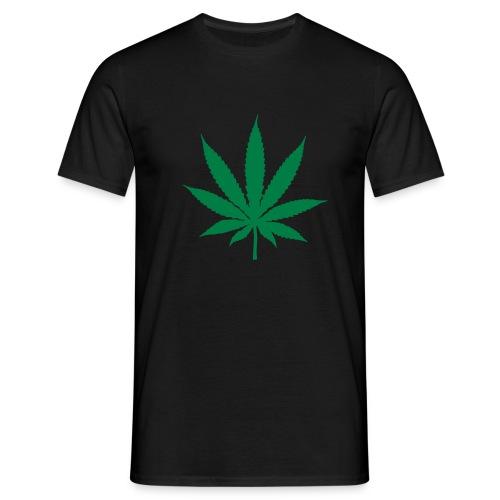 T-Shirt Cannabis schwarz - Männer T-Shirt