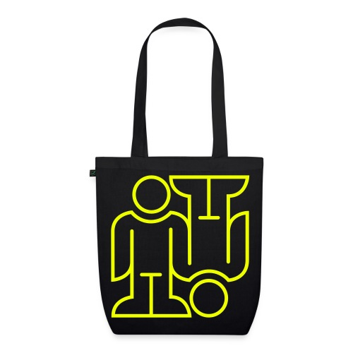 Bag Upside Down - EarthPositive Tote Bag