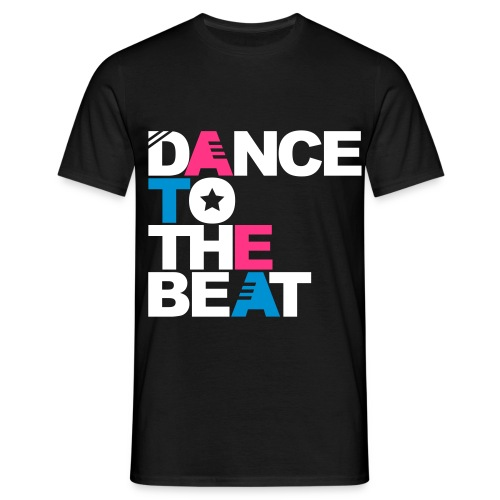 Dance To The Beat - Mannen - Mannen T-shirt