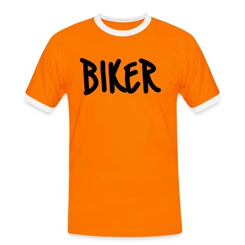 Biker - Maglietta Contrast da uomo