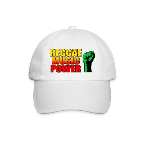 Cap reggae Music power - Casquette classique