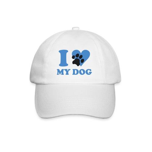 i love my dog  pet - Baseballcap