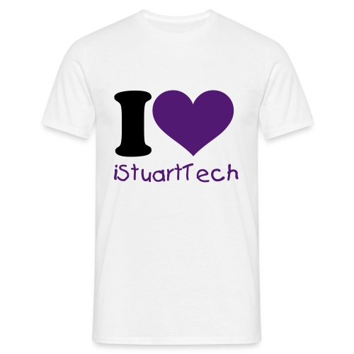 i Love iStuartTech - Men's T-Shirt